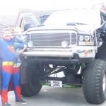 East Ardsley Childminder Karl Stead as Superman